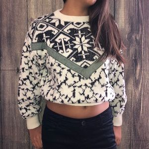 J.Crew cropped sweater